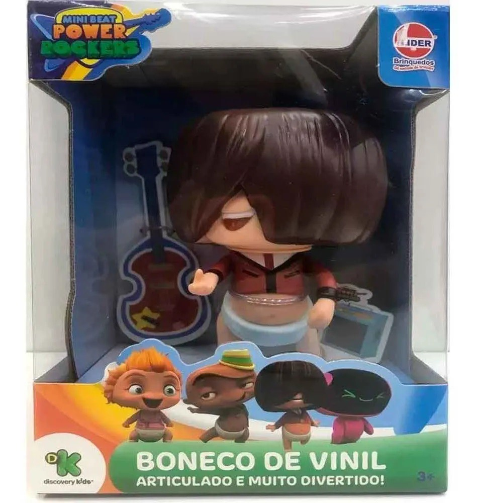 BONECO VINIL FUZ MINI BEAT POWER ROCKERS 2737 LIDER