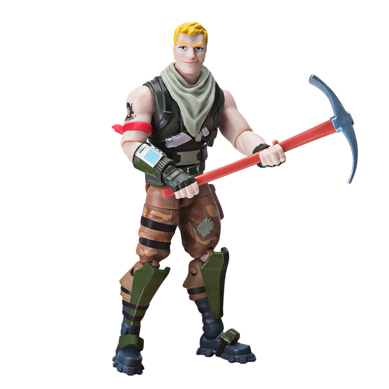 BONECOS FORTNITE TURBO BUILDER SET COM 2 FIGURAS