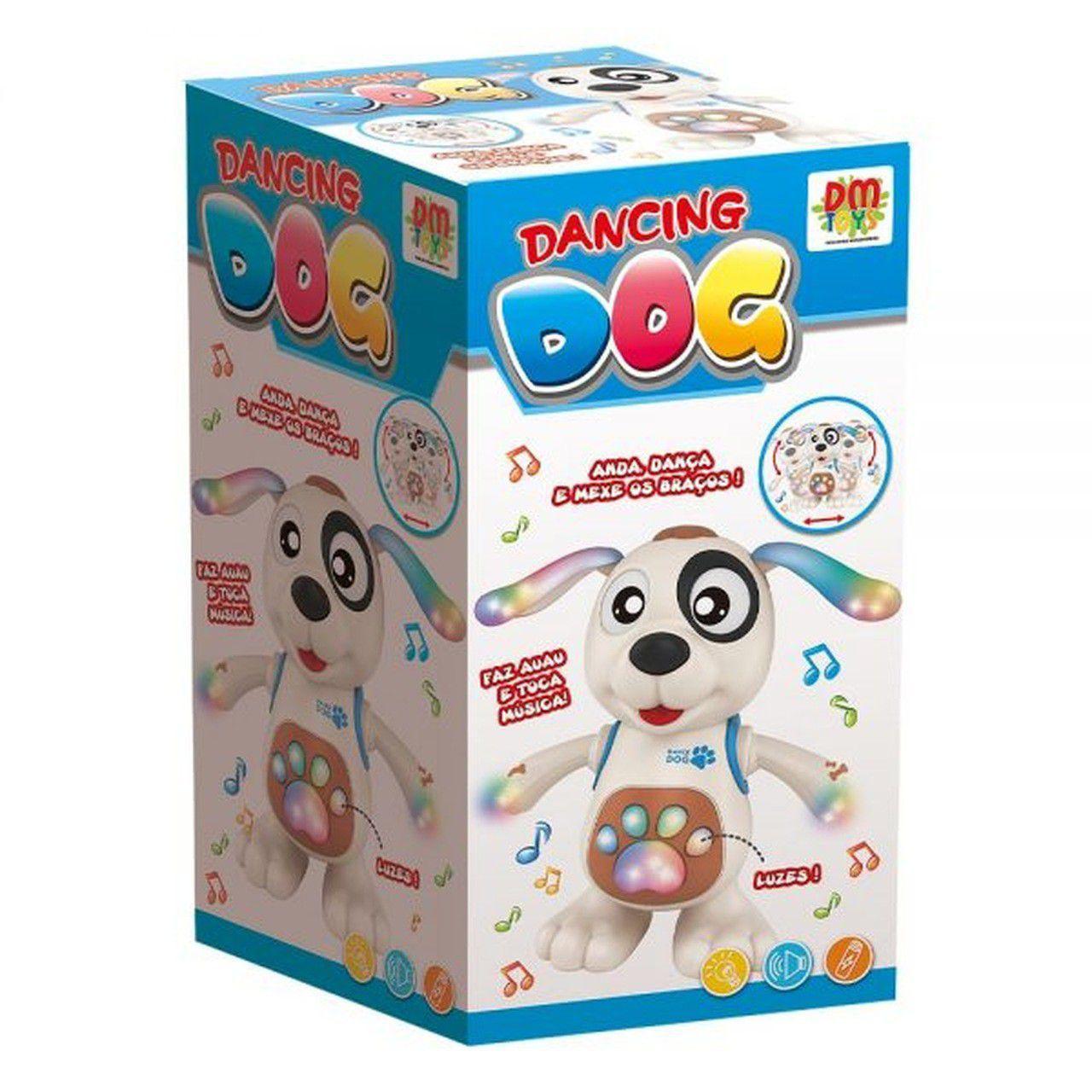 CACHORRO DANÇANTE DANCING DOG DMT5974 DM TOYS