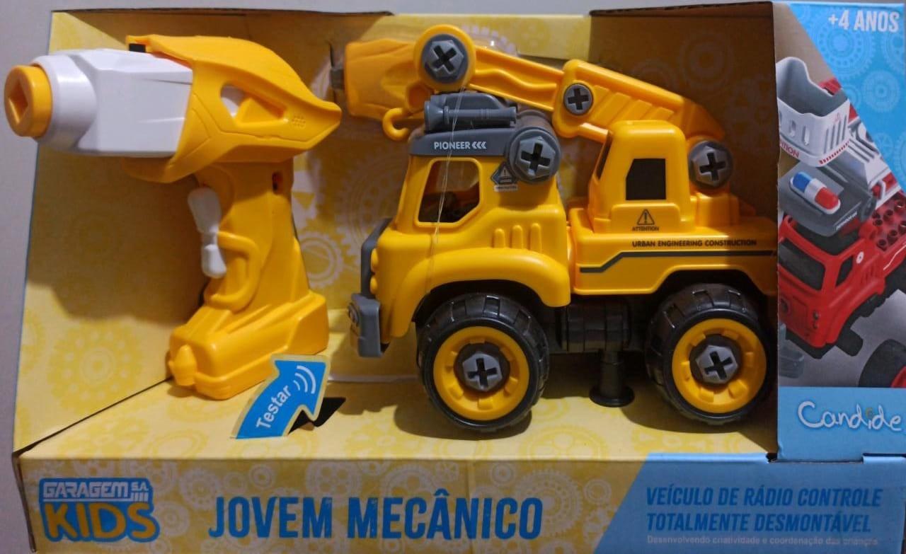 CARRO DE CONTROLE JOVEM MECÂNICO GUINCHO 3554 CANDIDE