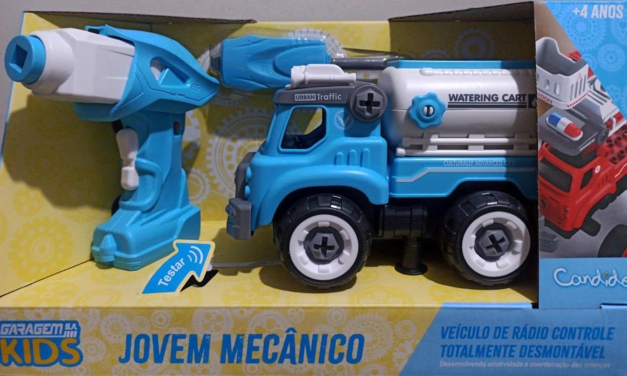 CARRO DE CONTROLE JOVEM MECÂNICO PIPA 3554 CANDIDE