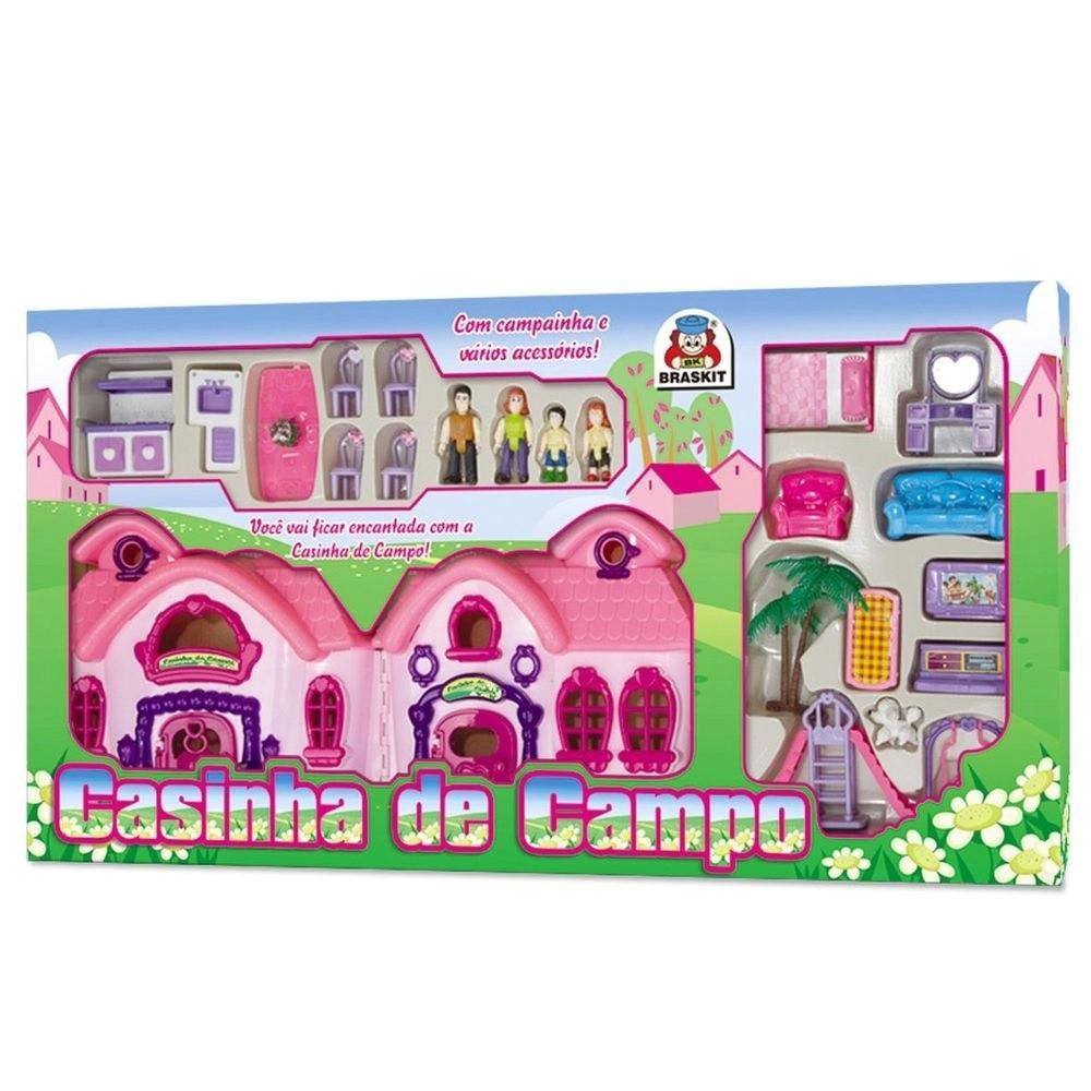 CASINHA DE CAMPO BONECAS E ACESSÓRIOS 6706 BRASKIT