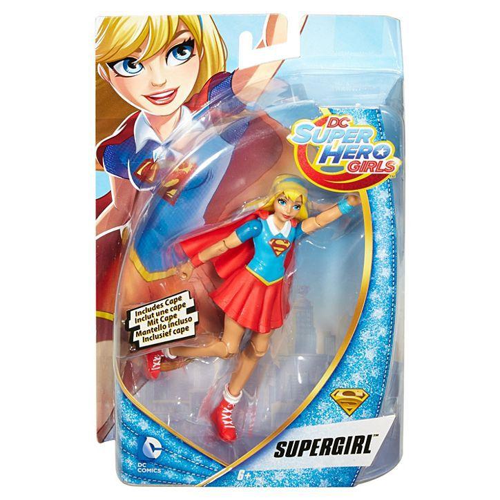 FIGURA DE AÇÃO DC SUPER HERO GIRLS DE 6 POLEGADAS - SUPERGIRL