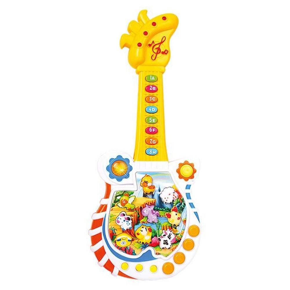 GUITARRINHA MUSICAL ANIMAIS PARADISE DMT4338 DM TOYS