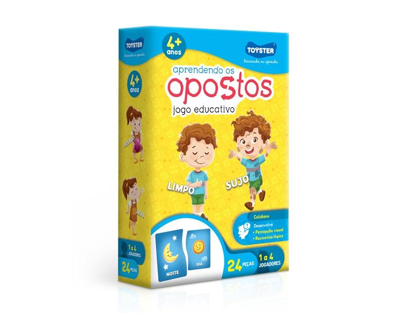 JOGO APRENDENDO OS OPOSTOS 002050 TOYSTER