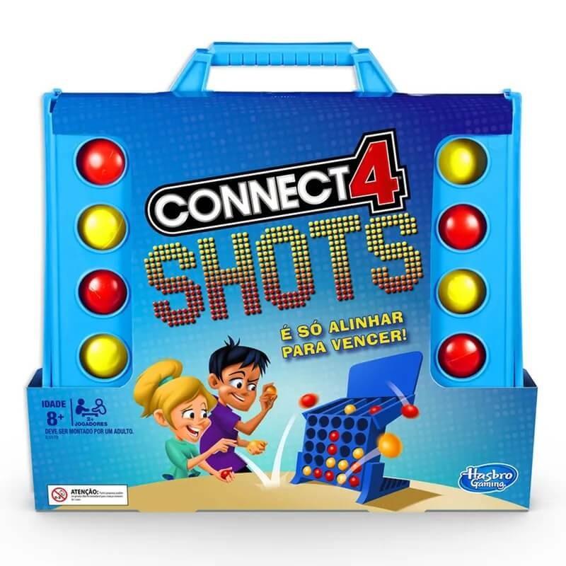 JOGO CONNECT 4 SHORTS E3578 HASBRO