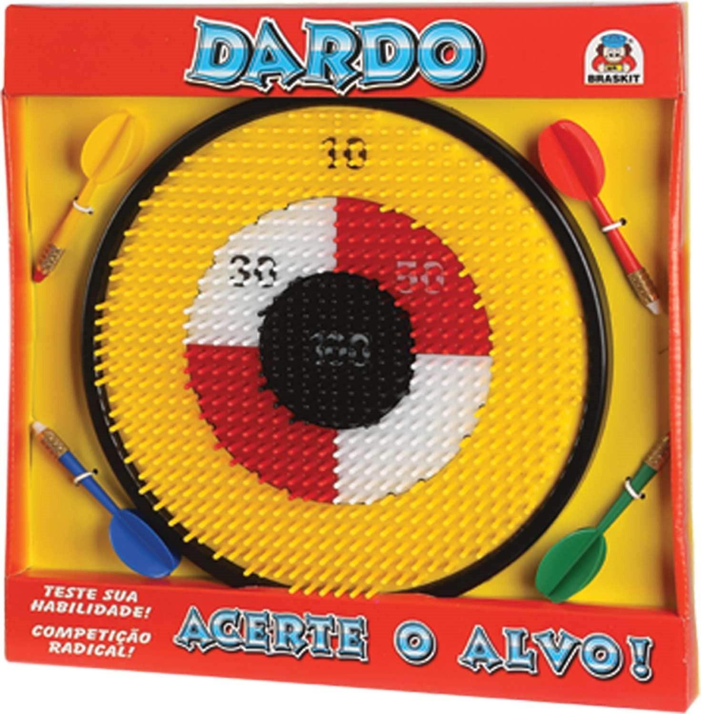 JOGO DARDOS ACERTE O ALVO 5205 BRASKIT