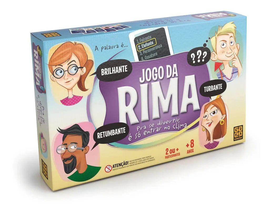 JOGO DE TABULEIRO DA RIMA 03719 GROW