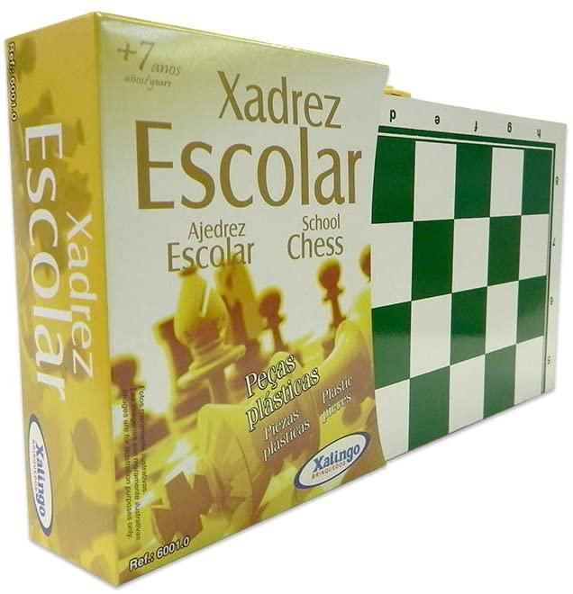 JOGO DE XADREZ ESCOLAR 60010 XALINGO