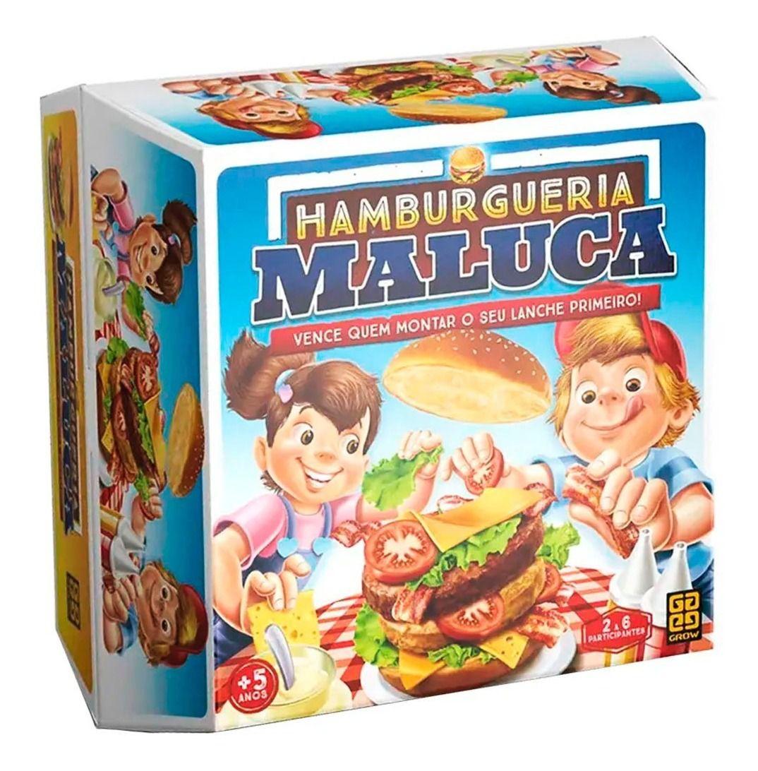 JOGO HAMBURGUERIA MALUCA 03574 GROW