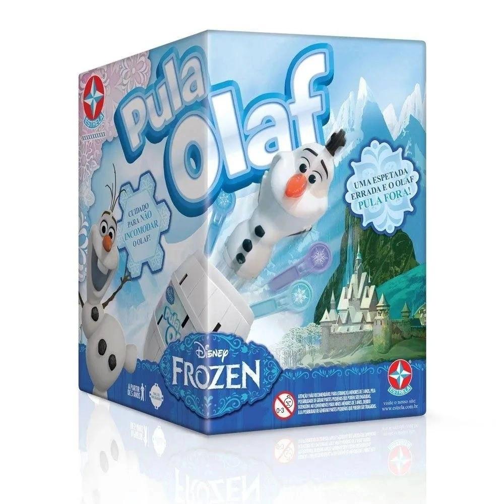 JOGO PULA OLAF DISNEY FILME FROZEN 1201607000030 ESTRELA