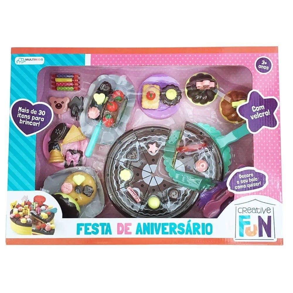 KIT CREC FESTA DE ANIVERSÁRIO CREATIVE FUN BR641 MULTIKIDS