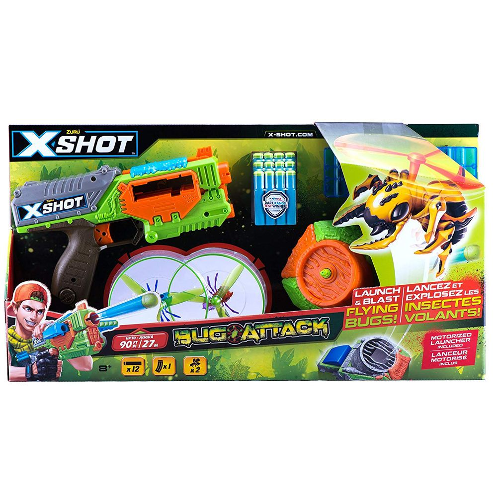 LANCADOR KIT X-SHOT 1XSWARM SEKEER