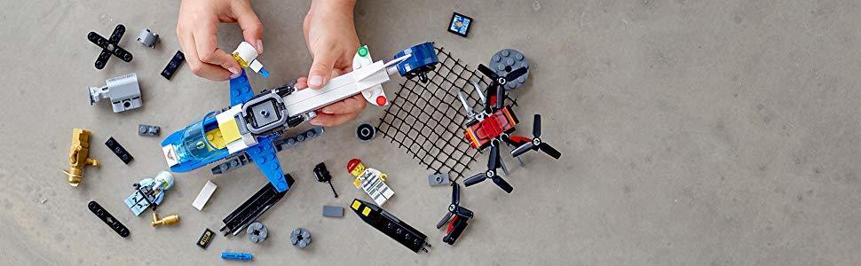LEGO CITY PERSEGUIÇÃO DE DRONE 60207