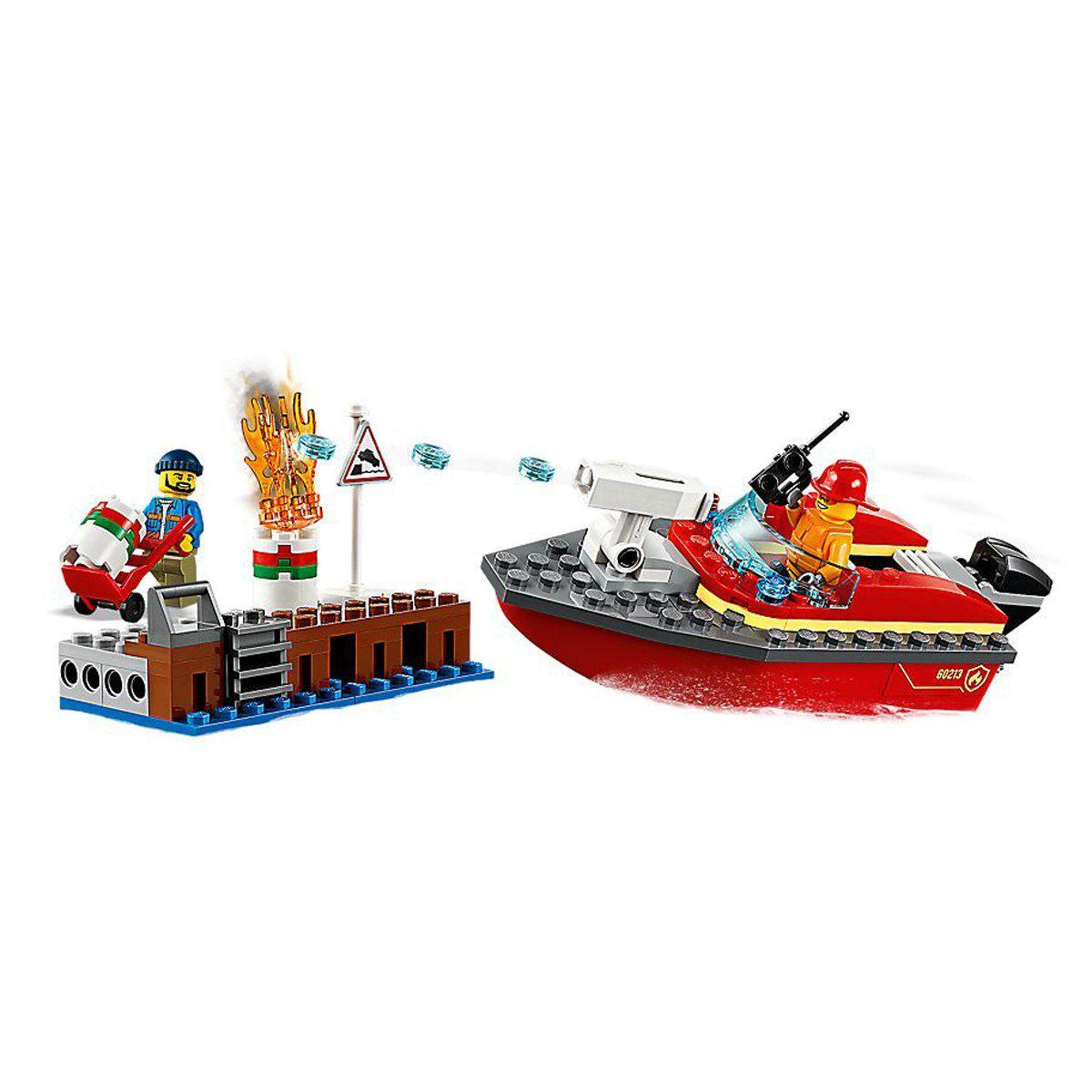 LEGO CITY  INCÊNDIO NA DOCA 60213