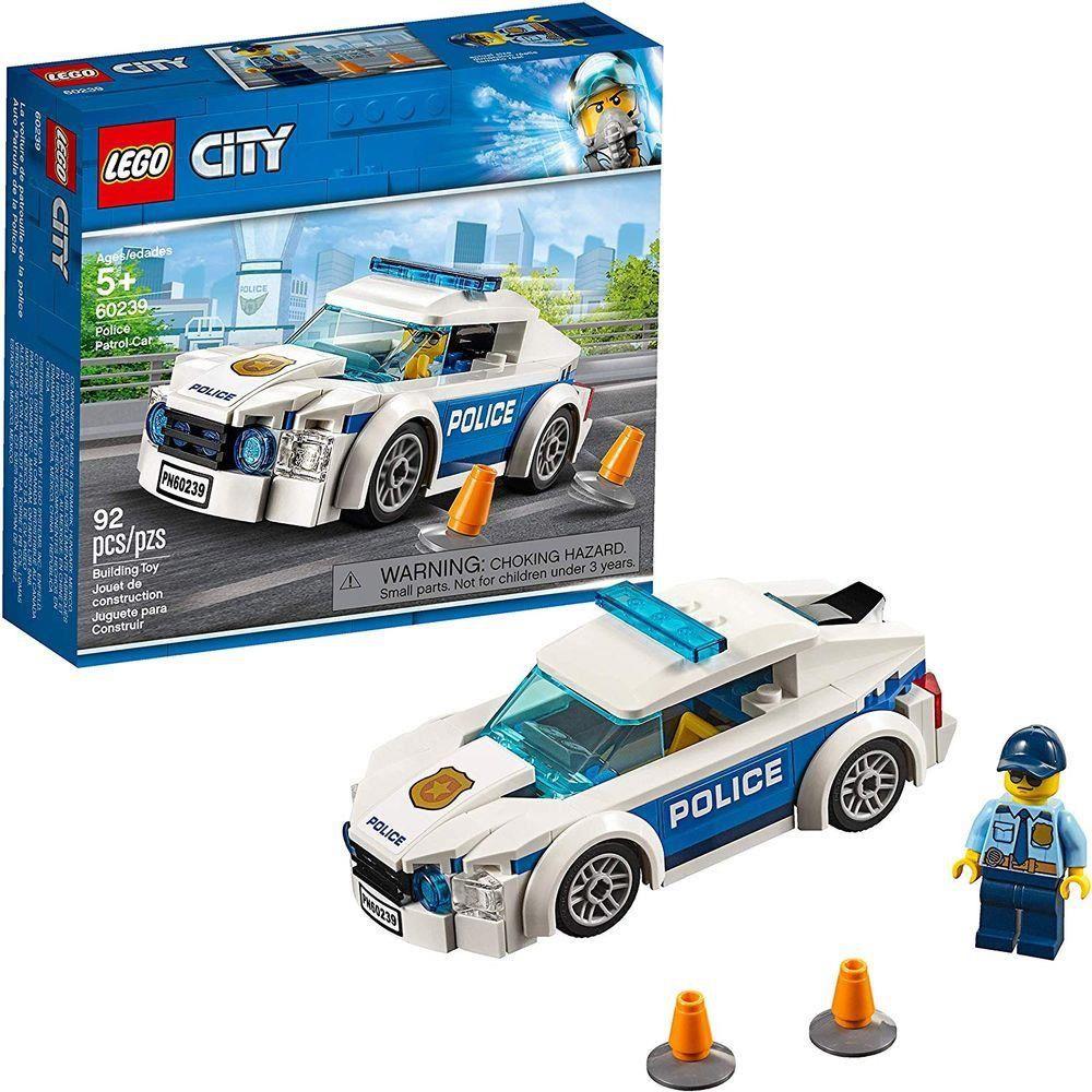LEGO CITY CARRO PATRULHA DA POLICIA 60239 LEGO