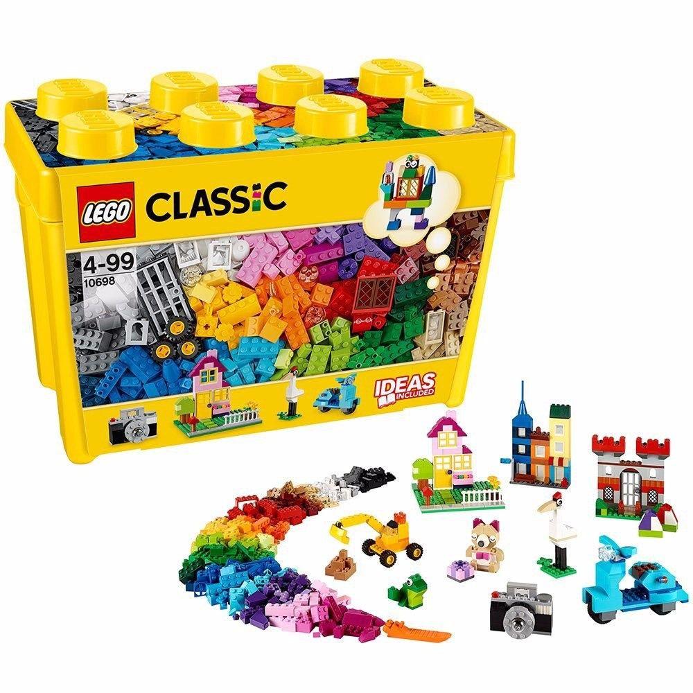 LEGO CLASSIC CAIXA GRANDE DE 790 PECAS CRIATIVAS 10698