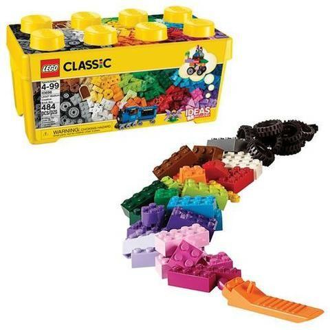 LEGO CLASSIC CAIXA MEDIA DE PEÇAS CRIATIVAS 10696 LEGO