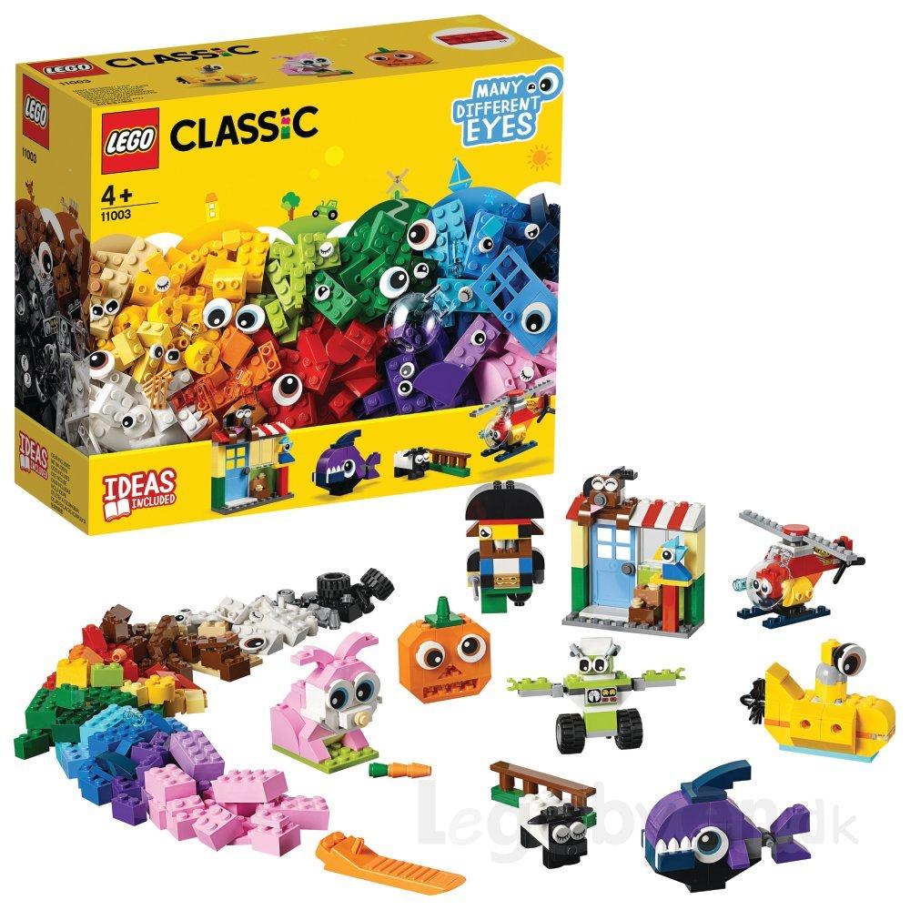 LEGO CLASSIC PEÇAS E OLHOS 451 PEÇAS 11003 LEGO