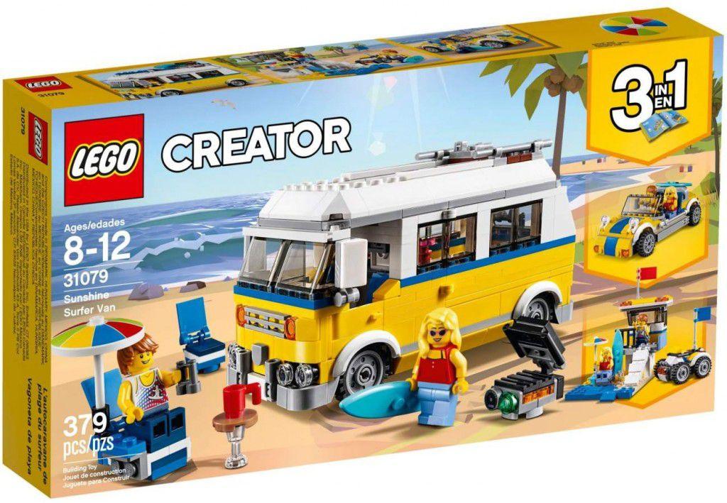 LEGO CREATOR 3 EM 1 SUNSHINE VAN DE SURFISTA 31079