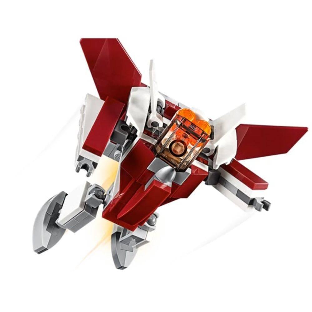 LEGO CREATOR 31086 AVIÕES FUTURÍSTICOS 3 EM 1