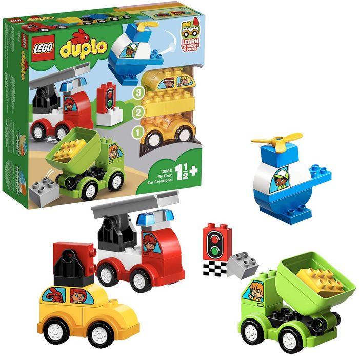 LEGO DUPLO AS MINHAS PRIMEIRAS CRIAÇÕES VEICULOS 10886 LEGO