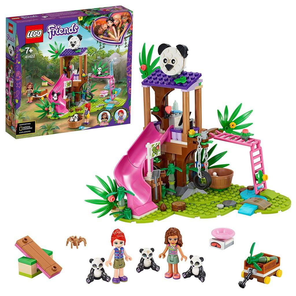LEGO FRIENDS CASA DO PANDA NA ARVORE DA SELVA 41422 LEGO
