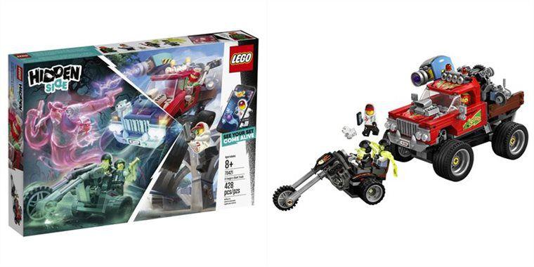 LEGO HIDDEN SIDE CAMINHÃO DE ACROBACIAS DE EL FUEGO 70421