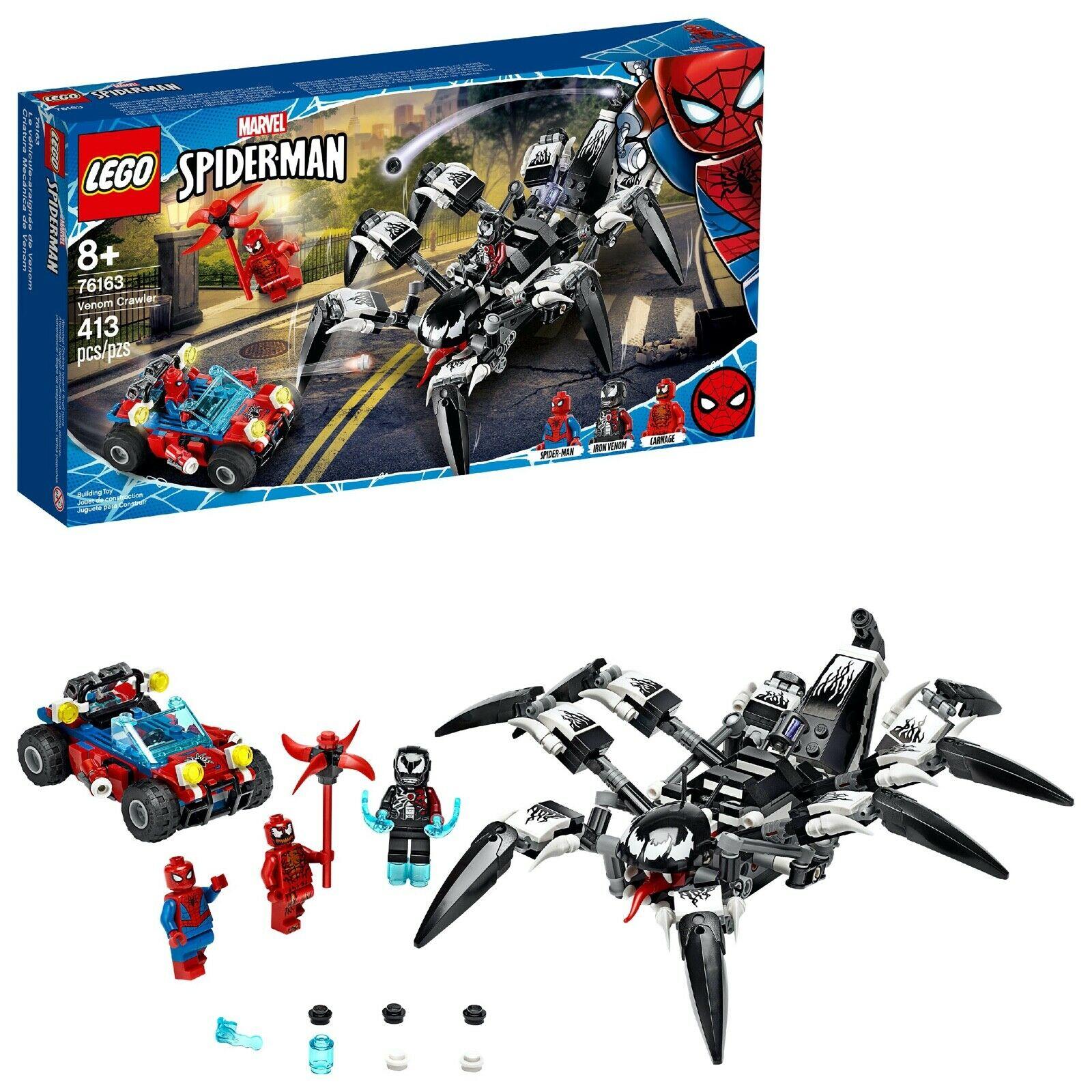LEGO MARVEL SPIDERMAN VENOM ARANHA 76163 LEGO