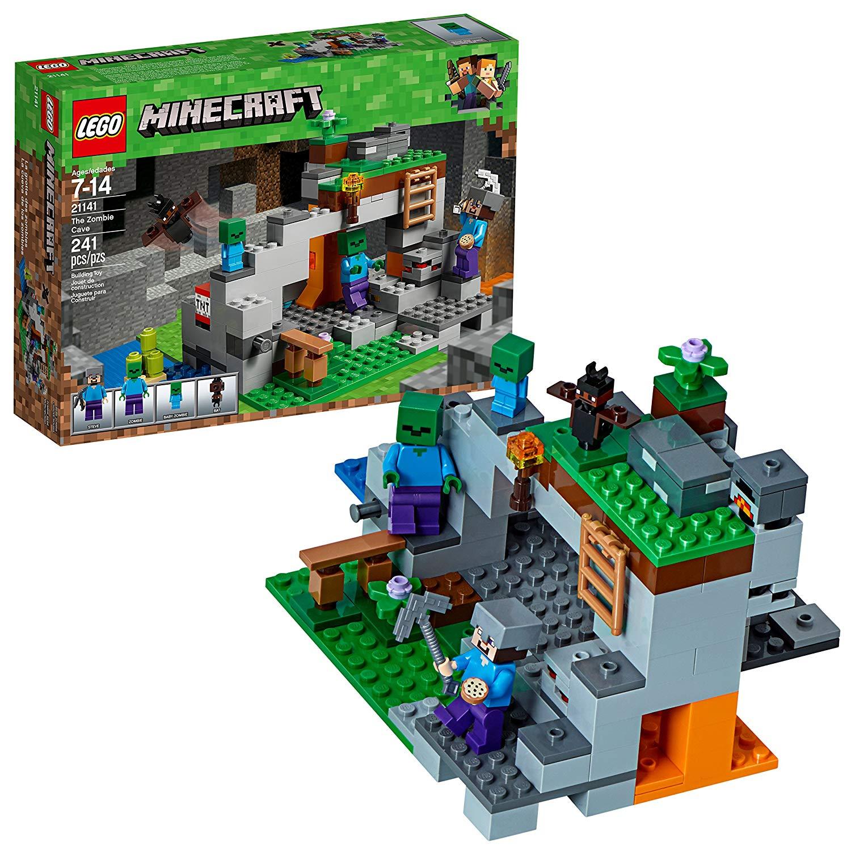 LEGO MINECRAFT CAVERNA DO ZOMBIE