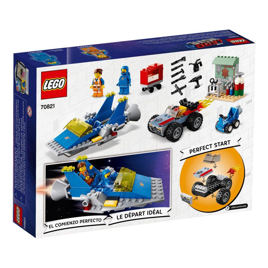 LEGO Movie 2 70821 OFICINA DE CONSTRUÇÃO E CONSERTO DO EMMET E BENNY