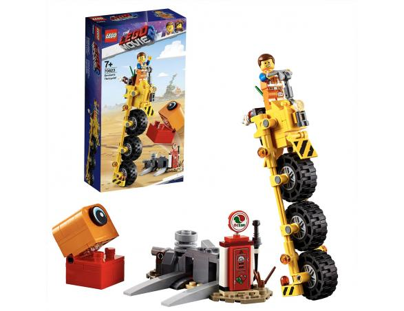 LEGO MOVIE 2 TRICICLO DO EMMET 70823