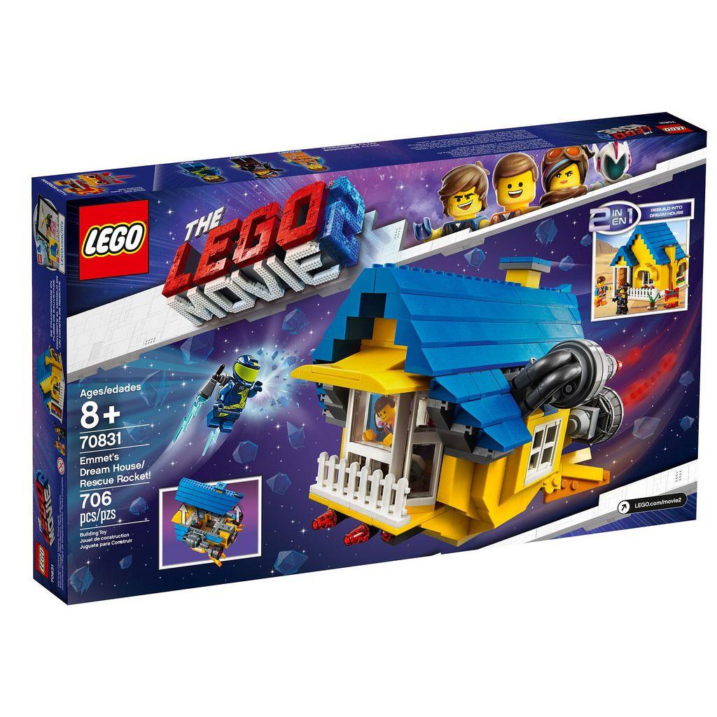 LEGO MOVIE 2 70826 VEICULO T-REX THREME 3 EM 1