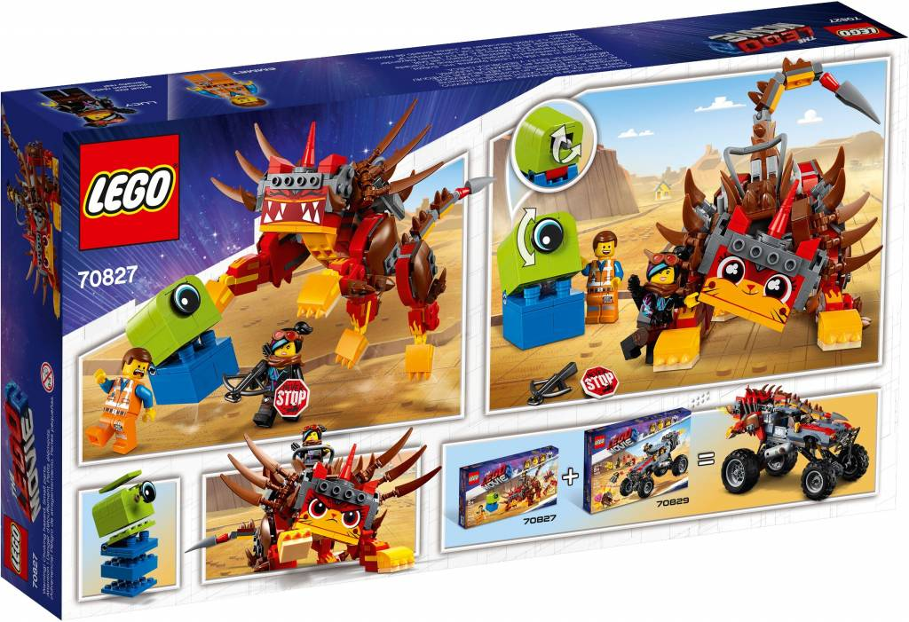 LEGO MOVIE 2 MEGAESTILO GUERREIRA ULTRAG 70827
