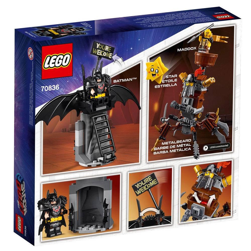 LEGO MOVIE 2 DC COMICS BATMAN VS BARBA DE FERRO 70836