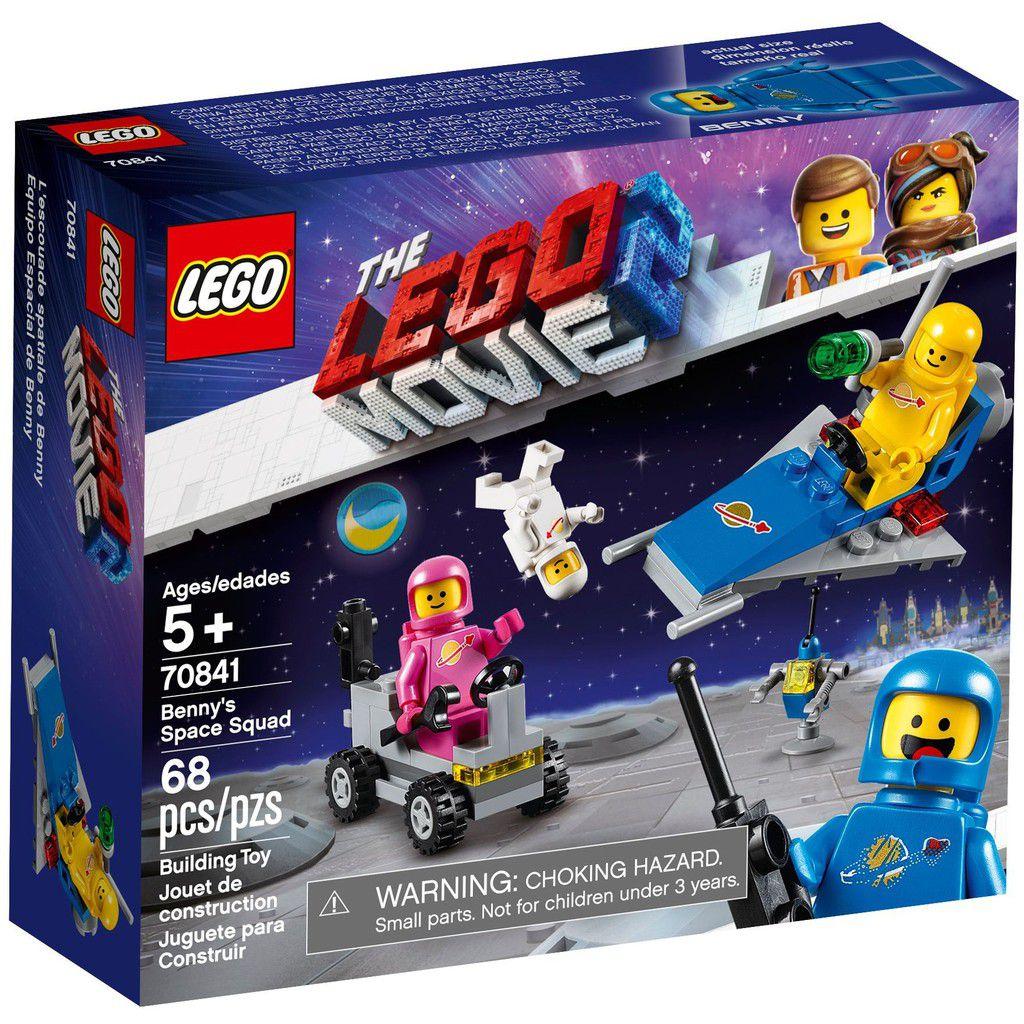 LEGO MOVIE 2 70841 PELOTÃO ESPACIAL BENNY