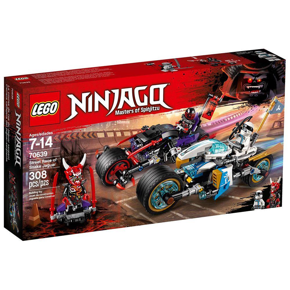 LEGO NINJAGO STREET RACE SNAKE  JAGUAR