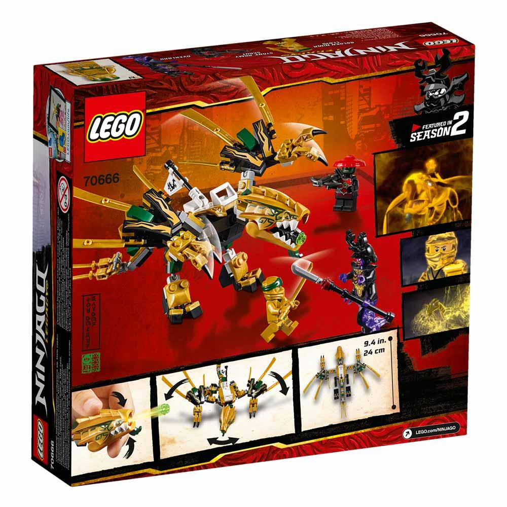LEGO NINJAGO LEGACY DRAGÃO DOURADO 70666