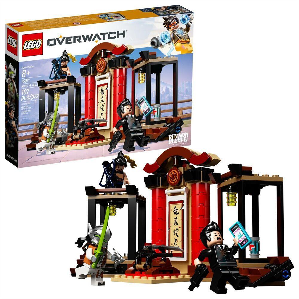 LEGO OVERWATCH 75971 HANZO E GENJI