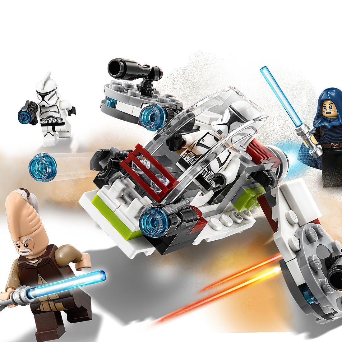 LEGO STAR WARS CONJUNTO COMBATE JEDI E CLONE TROPPER 75206