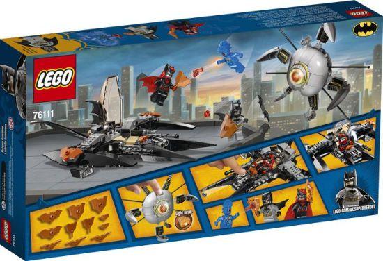 LEGO SUPER HEROES DC COMICS BATMAN A DERRUBADA IRMÃO OLHO 76111