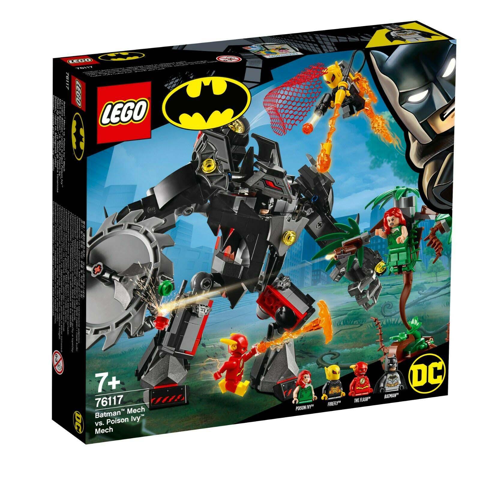 LEGO SUPER HEROES DC COMICS BAT ROBÔ VS POISON IVY 76117