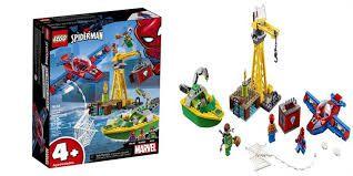 LEGO SUPER HEROES MARVEL SPIDER-MAN O ASSALTO AOS DIAMANTES DE DOCK OCK 76134