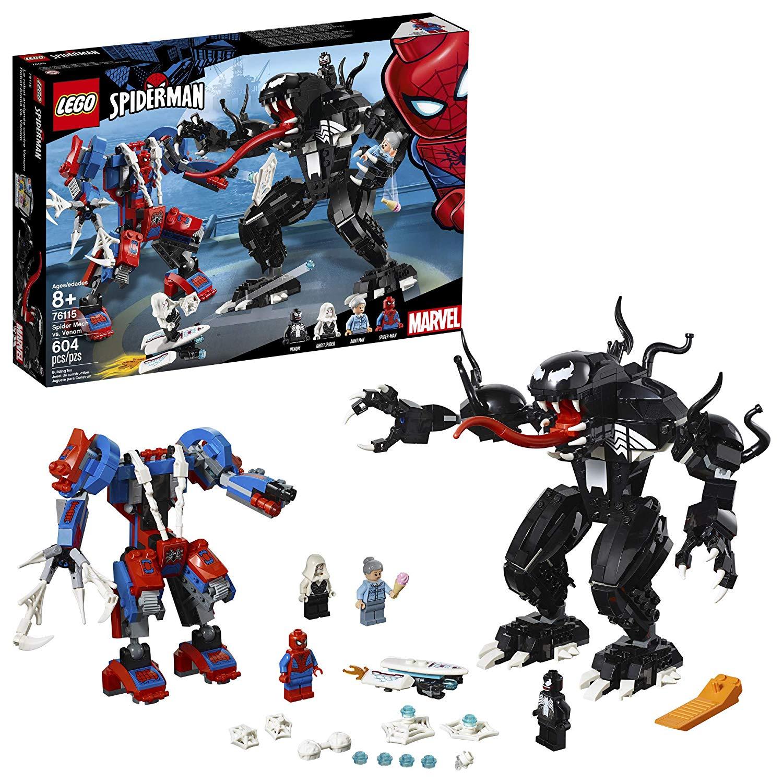 LEGO SUPER HEROES SPIDER ROBÔ VS VENOM 76115