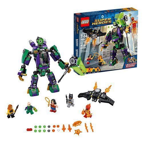 LEGO SUPER HEROES DC COMICS ROBÔ DO LEX LUTHOR 76097