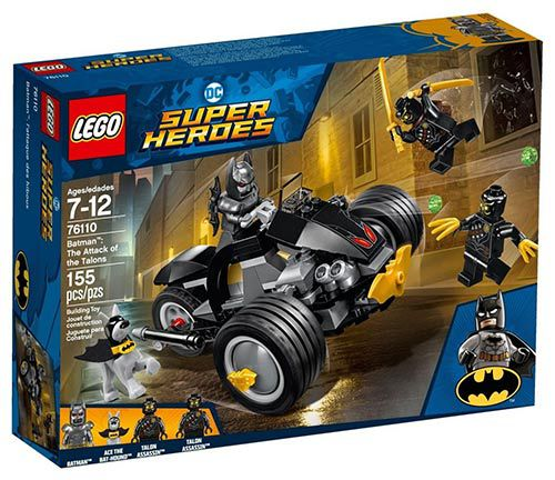 LEGO SUPER HEROES DC COMICS BATMAN ATAQUE DOS GARRAS 76110