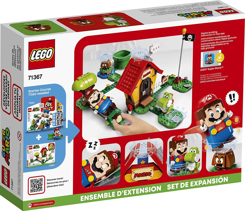 LEGO SUPER MARIO CASA DE MARIO E YOSH EXPANSÃO 71367 LEGO