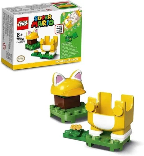 LEGO SUPER MARIO GATO POWER UP 71372 LEGO