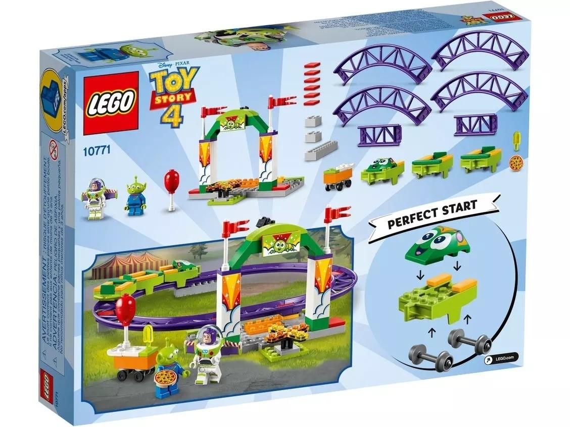 LEGO TOY STORY 4 MONTANHA RUSSA EMOÇÕES CARNVAL 10771 LEGO
