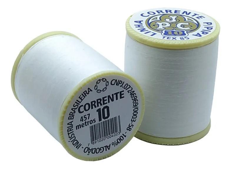 LINHA CORRENTE PIPA BRANCA N10 500 JARDAS TEX85 CORRENTE